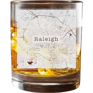 Raleigh College Town Glasses (Set of 2)