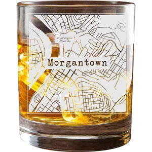 Morgantown College Town Glasses (Set of 2)