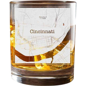 Cincinnati College Town Glasses (Set of 2)