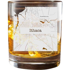 Ithaca College Town Glasses (Set of 2)