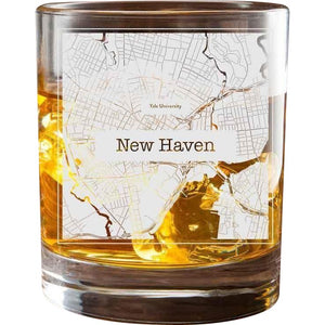 New Haven College Town Glasses (Set of 2)