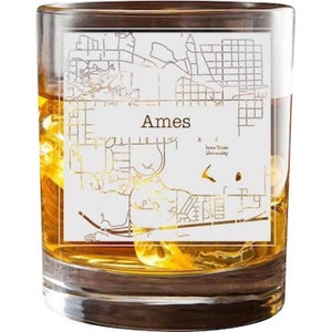 Ames College Town Glasses (Set of 2)