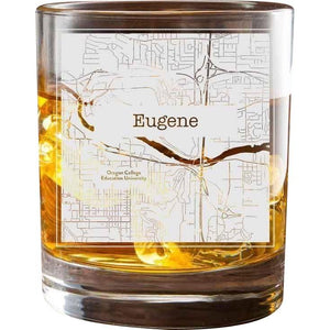 Eugene College Town Glasses (Set of 2)