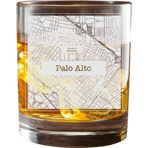 Palo Alto College Town Glasses (Set of 2)