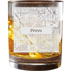 Provo College Town Glasses (Set of 2)