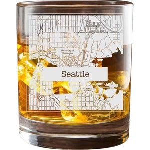 Seattle College Town Glasses (Set of 2)