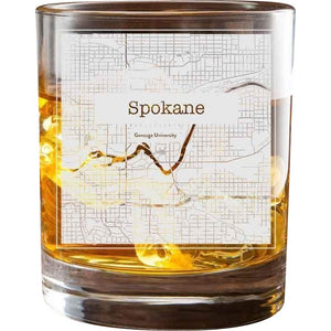 Spokane College Town Glasses (Set of 2)