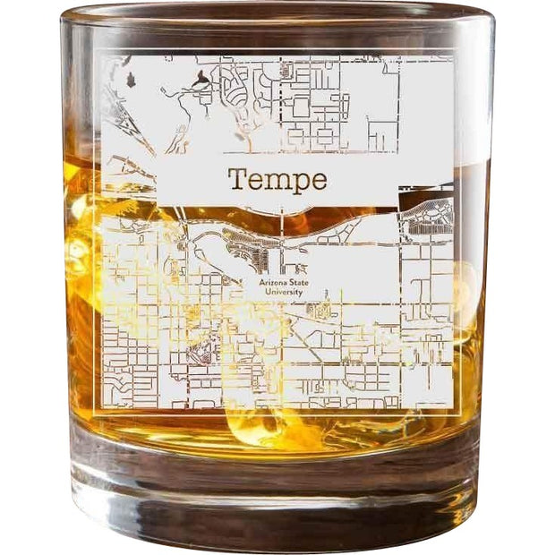 Tempe College Town Glasses (Set of 2) 1