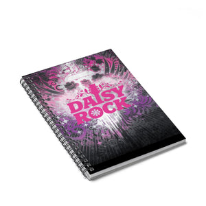 Daisy Rock Guitars Spiral Notebook - Ruled Line