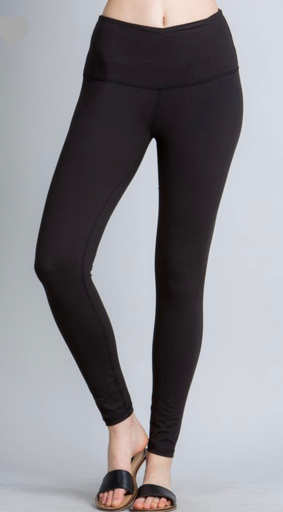 B&B Essential Leggings - Black