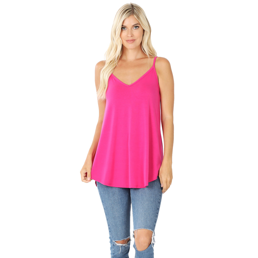 B+B Reversible Cami {Hot Pink} Z