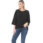 B+B Cozy Cutie Top {Black}