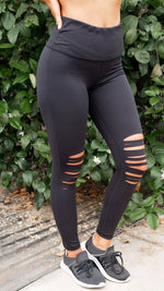 Yoga Band Laser Cut Leggings