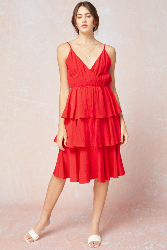 Red-y for Anything Dress