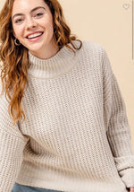 Not to Be Missed Knit Sweater {Cream}