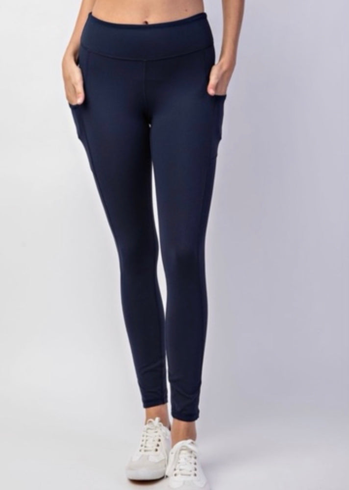 B&B Classic Leggings {Navy}