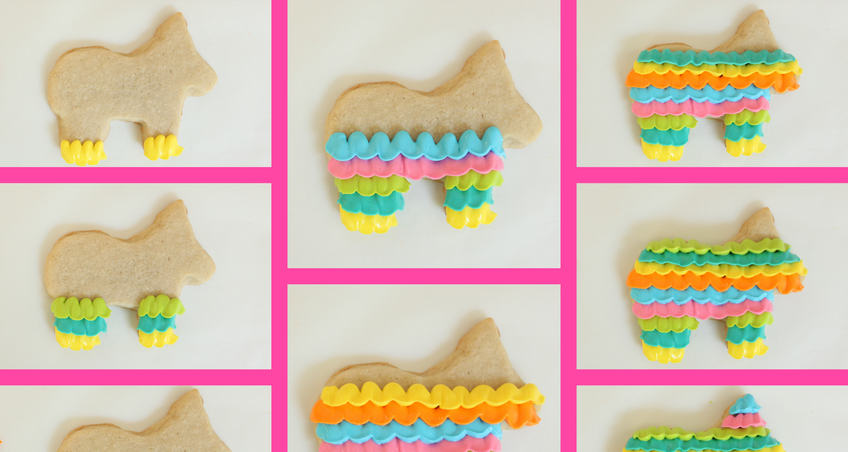 How to Decorate Piñata Cookies