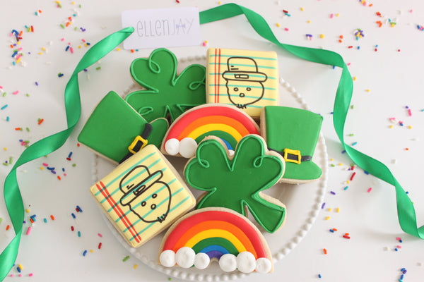 ST. PATRICK'S DAY LEPRECHAUN Cookie Box (12 ct)