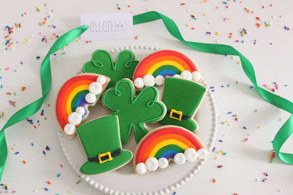 ST. PATRICK'S DAY Cookie Box (12 ct)