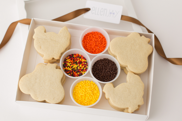 THANKSGIVING Cookie Decorating Kit (12 ct)