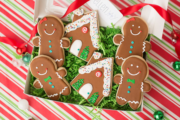 GINGERBREAD Cookie Box (6 ct)