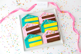 BIRTHDAY CAKE Cookie Box (12 ct)