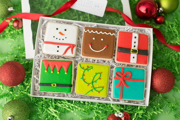 JINGLE Cookie Box (6 ct)