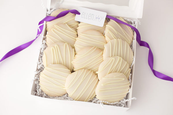 LEMON Tea Cake Cookie Box (12 ct)
