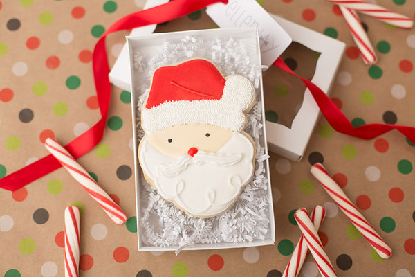 SANTA Cookie Box (1 ct)