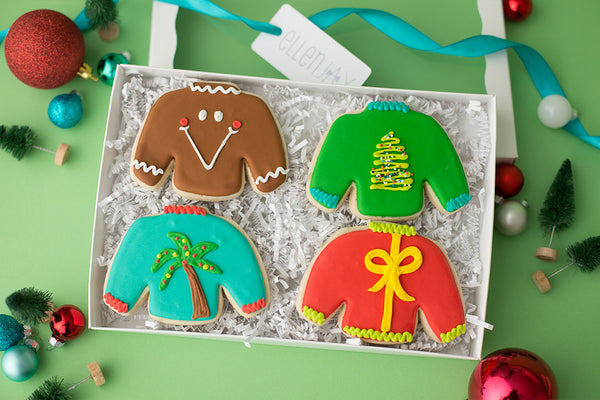 TACKY SWEATER Cookie Box (4 ct)