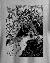 Load image into Gallery viewer, Dawn Patrol - (unisex t-shirt) white/grey