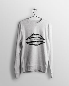 Mountainous, Barreling Lips.  - Sweatshirt