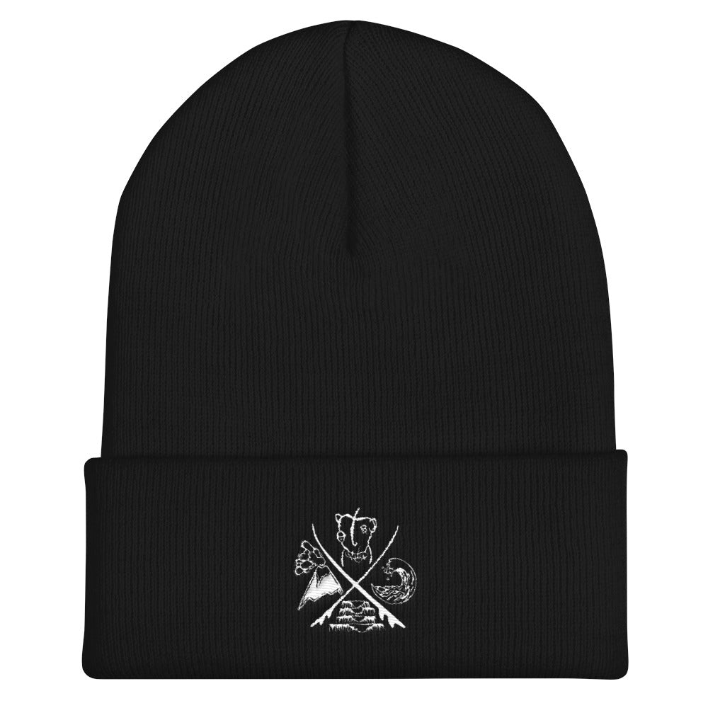 Sour Paradise Badge - Cuffed Beanie