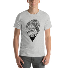 Load image into Gallery viewer, Diamond Wave - (unisex t-shirt) white/grey