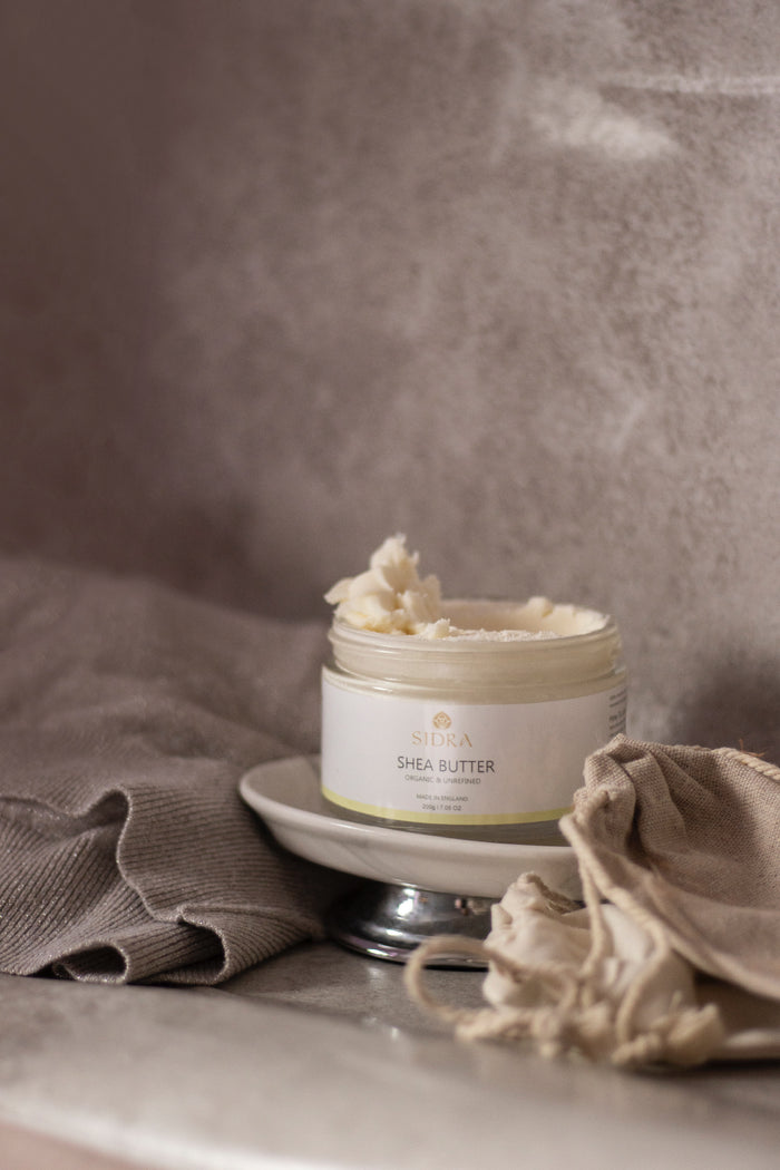 100% NATURAL ORGANIC & UNREFINED SHEA BUTTER