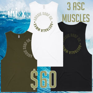 3 MUSCLES FOR $60