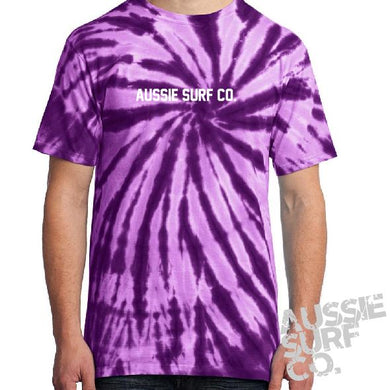 ASC Purple Tie Dye - Tee or Cut Sleeve Adult