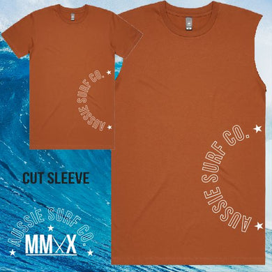 ASC MMXX Side Print Copper/White Tee or Cut Sleeve