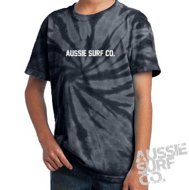 ASC Black Tie Dye - Tee or Cut Sleeve Kids