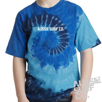 ASC Blue Tie Dye - Tee or Cut Sleeve Kids
