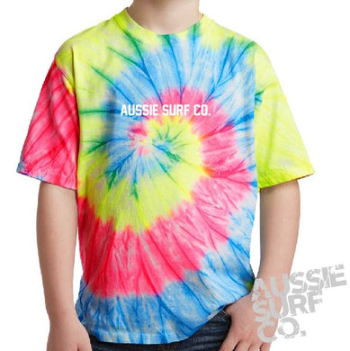 ASC Lt Multi Tie Dye - Tee or Cut Sleeve Kids