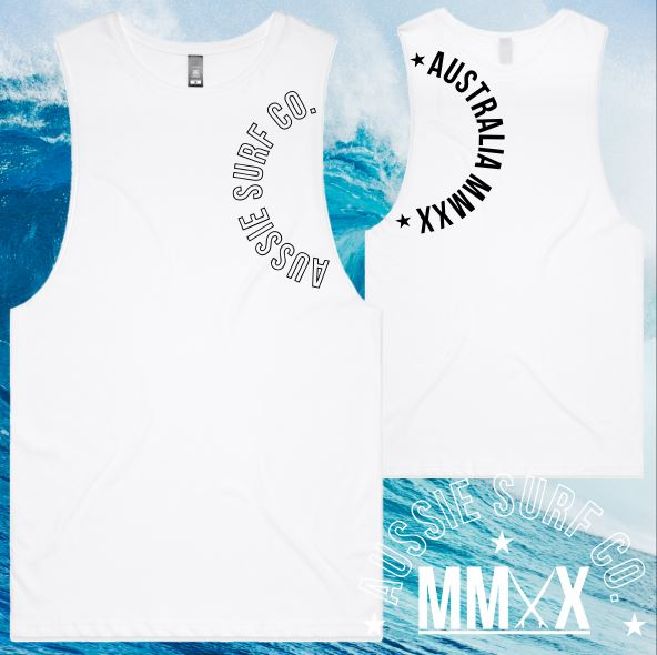 ASC KIDS MMXX MUSCLE SLEEVE WHITE
