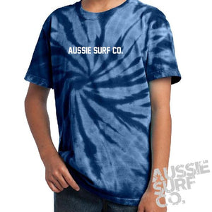 ASC Navy Tie Dye - Tee or Cut Sleeve Kids
