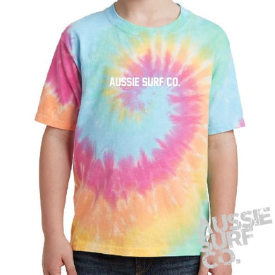 ASC Pastel Multi Tie Dye - Tee or Cut Sleeve Kids
