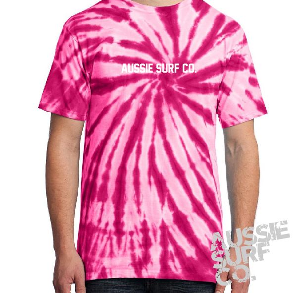 ASC Pink Tie Dye - Tee or Cut Sleeve Adult