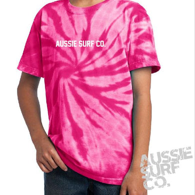 ASC Pink Tie Dye - Tee or Cut Sleeve Kids