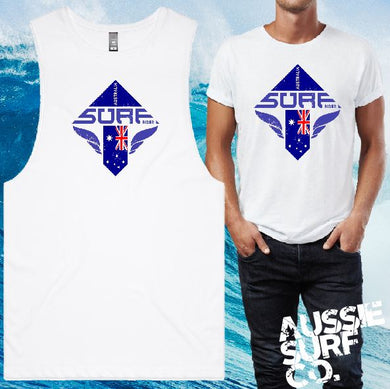 Surf Rider Tee or Muscle
