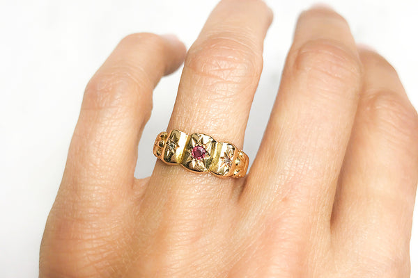 The Victorian gypsy ring: a cool addition to the alternative engagement ring scene