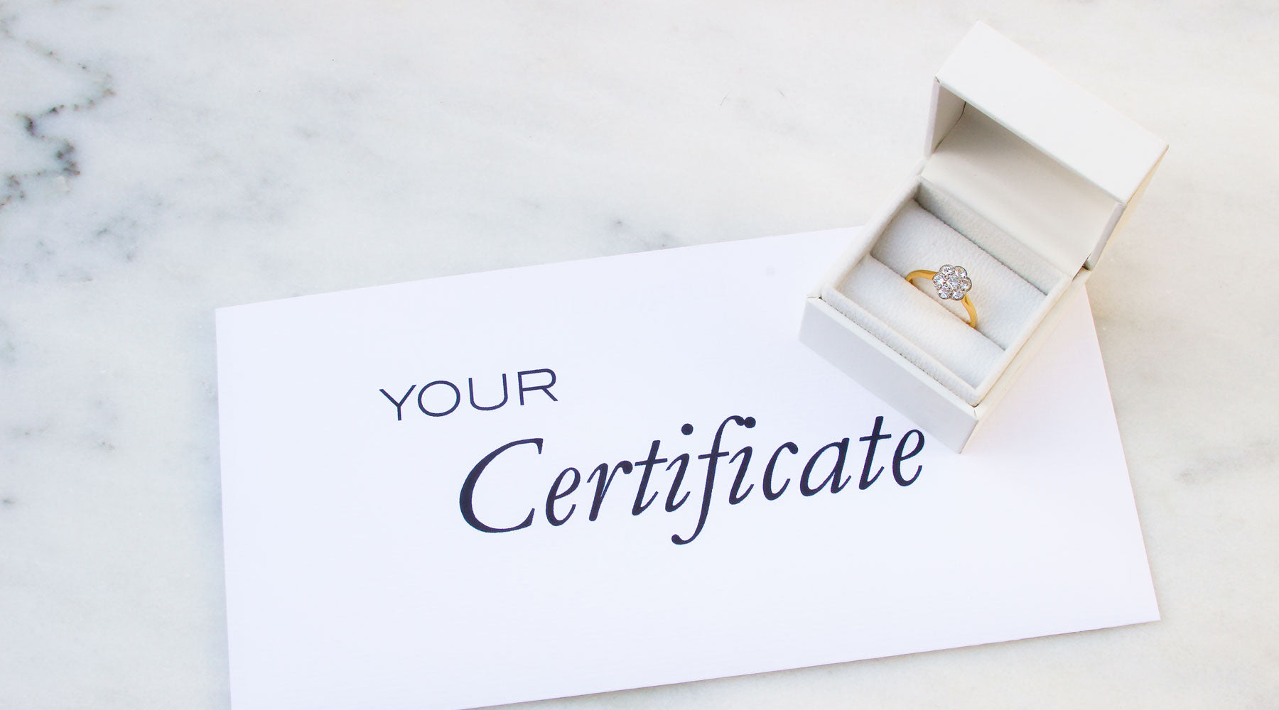 The Vintage Ring Co Certificate