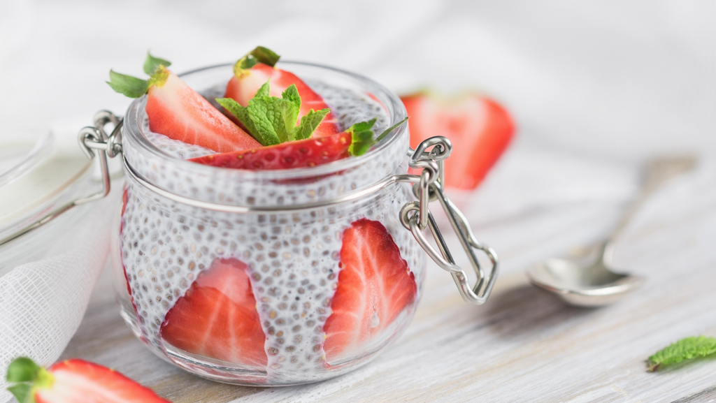 Simple Chia Puddings